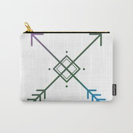 Cross Arrows Carry-All Pouch