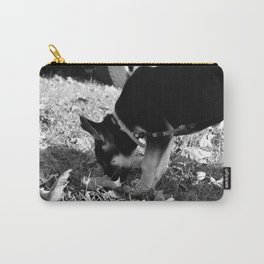 Bella the German Shepard Carry-All Pouch