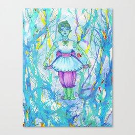 darling squidgirl II Canvas Print