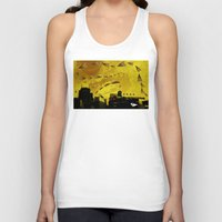 airplanes Tank Tops featuring airplanes and cigarettes by Trevor Bittinger
