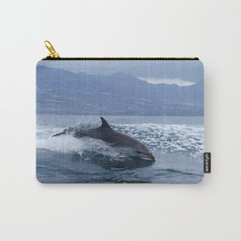 Wild and free bottlenose dolphin Carry-All Pouch
