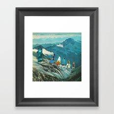 Tercer portal Framed Art Print