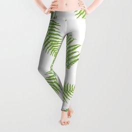 Fern seamless pattern Leggings