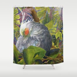 Forty Winks Shower Curtain