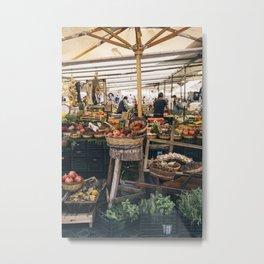 campo de' fiori markets Metal Print