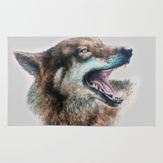 Wolf smile Rug