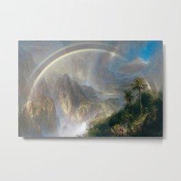 Frederic Edwin Church - Rainy Season in the Tropics Metal Print