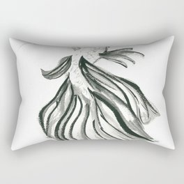 Betta fish Rectangular Pillow