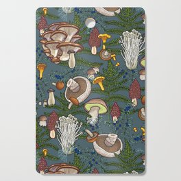 mushroom forest Cutting Board