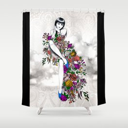 Garden Dress Shower Curtain