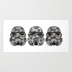 Three Stormies Art Print