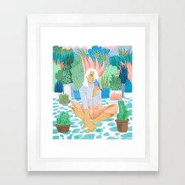 Early Lovebird Framed Art Print