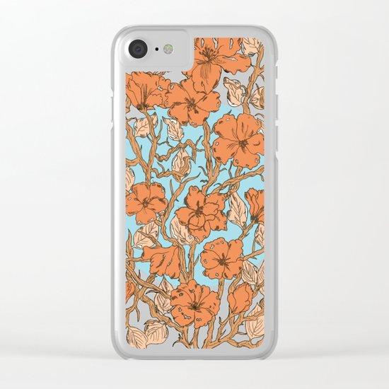 Primavera Clear iPhone Case