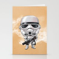 storm trooper Stationery Cards featuring STORM TROOPER by Leoren