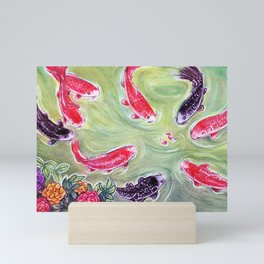 Koi Fish Mini Art Print