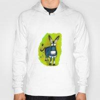 donkey Hoodies featuring Donkey by t i t i l l a