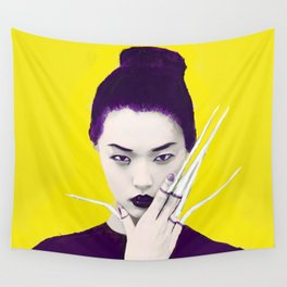 Violet the Violent Wall Tapestry