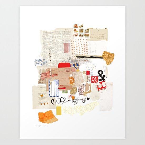 Flea Market Art Print