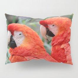 Scarlet Macaws Pillow Sham