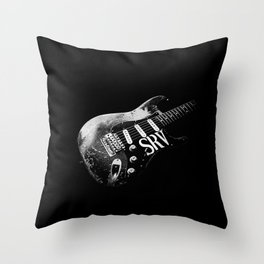 Stevie Ray Vaughan-Number one - Guitar-Blues-Rock-legend Throw Pillow