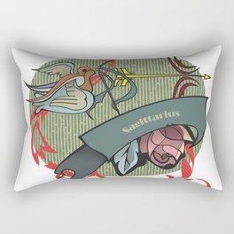 Sagittarius zodiac Rectangular Pillow