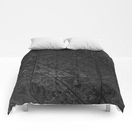 Black Marble Texture G310 Comforters