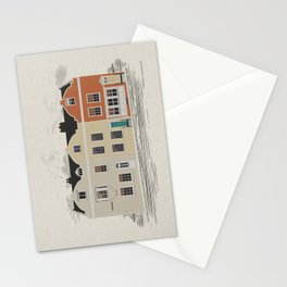 Lombard St. Portsmouth Stationery Cards
