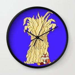 Fall Time Chunky Chipmunk Wall Clock
