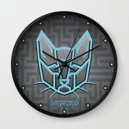 Autocats Transformers Wall Clock