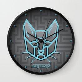 Autocats Transformers Wall Clock