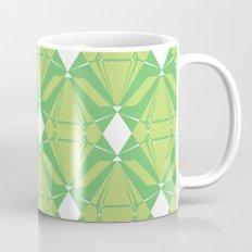 Abstract [GREEN] Emeralds Mug