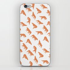 wild wolves pattern iPhone & iPod Skin