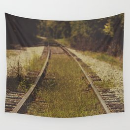 A path that leads to somewhere. Wall Tapestry
