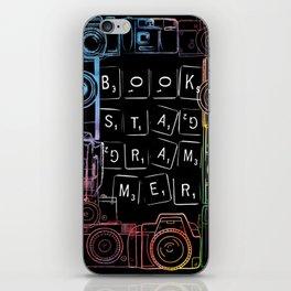 bookstagram v1 iPhone Skin