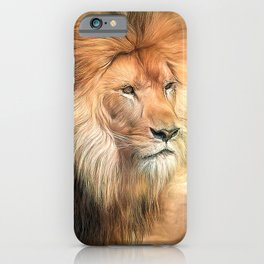 African King iPhone Case