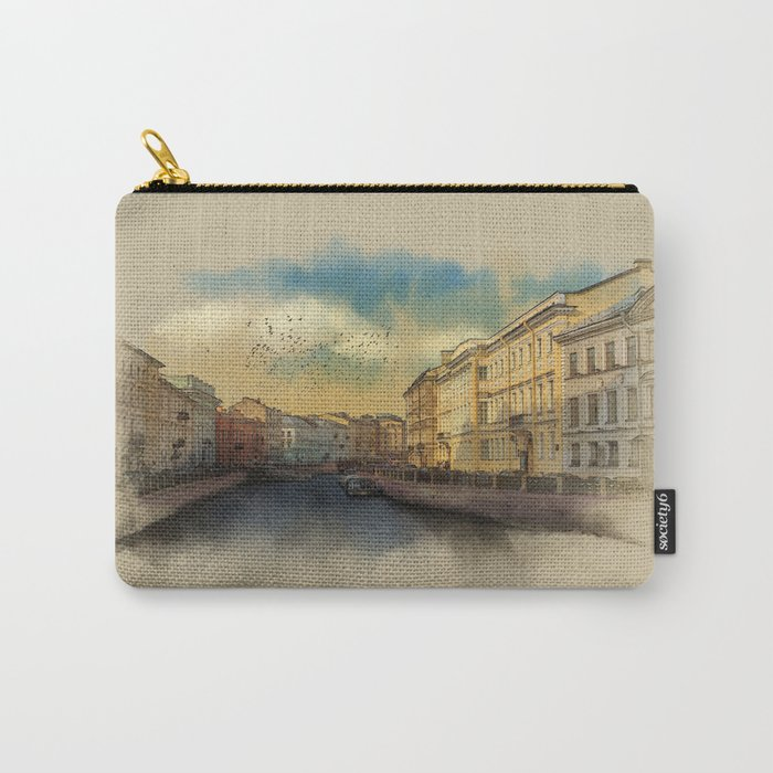 St. Petersburg, Moika river embankment. Carry-All Pouch