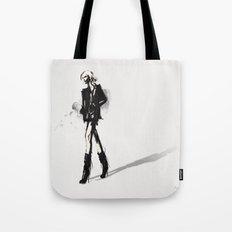 Fringe - Fashion Illustration Tote Bag