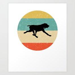 Bracco Italiano Dog Gift design Art Print