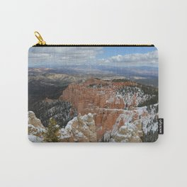 Snow in Bryce Canyon Utah Carry-All Pouch