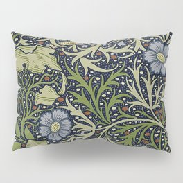 William Morris Seaweed Pattern Pillow Sham