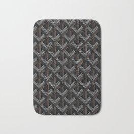 Goyard Black Bath Mat