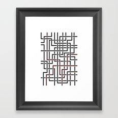 Obliquity 4 Framed Art Print