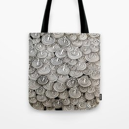 Flying Popcorns Tote Bag