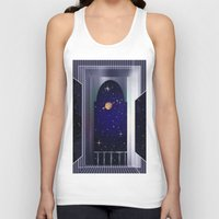 "titan Tank Tops featuring House on ""Titan"" !  by capricorn"
