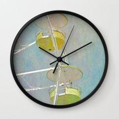 Carnival Ferris Wheel Wall Clock