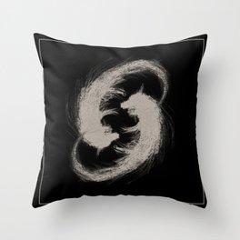 Circling Fo Throw Pillow