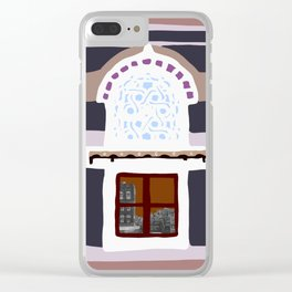 Traditional Yemenite Architecture. Pt2 Clear iPhone Case