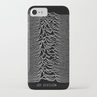 joy division iPhone & iPod Cases featuring Joy Division by Abrian Sabo