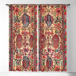Bakhtiari West Persian Carpet Print Blackout Curtain