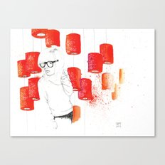 Solitudine Canvas Print